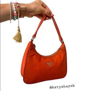 Vintage 🍊 Prada Tessuto Handbag